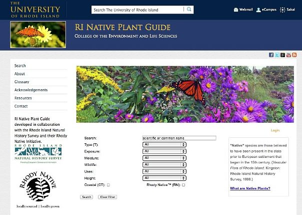 RI Native Plant Guide